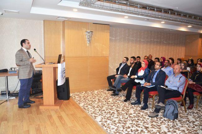 FİZYOTERAPİSTLER MALATYA'DA BULUŞTU (CAHİT ÖZÇELİK/MALATYA-İHA)