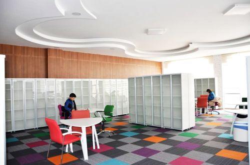 'Kernek Külliyesi'ne Kütüphane