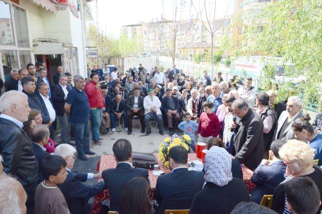 CHP'DEN KENTSEL DÖNÜŞÜM GERÇEĞİ TOPLANTISI (CAHİT ÖZÇELİK/MALATYA-İHA)