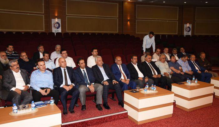 MTSO MAYIS AYI MECLİS TOPLANTISI YAPILDI (BARIŞ TÜREL/MALATYA-İHA)