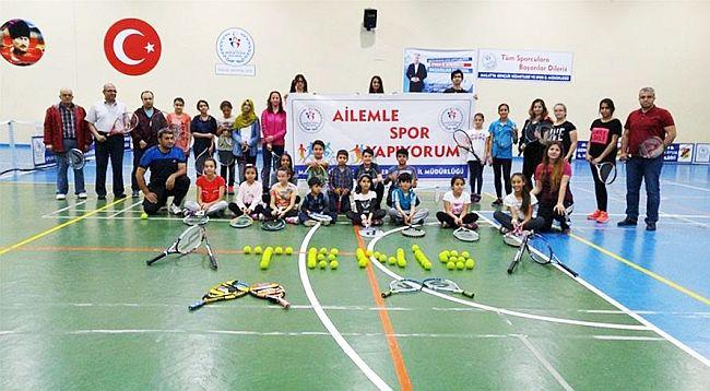 'Ailemle Spor Yapıyorum'