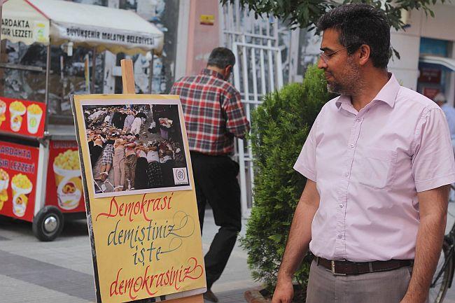 İHH'DAN RESİM SERGİSİ (BARIŞ TÜREL/MALATYA-İHA)