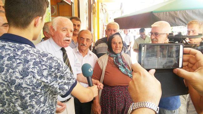 MHP'LİLER PAŞAKÖŞKÜNÜ ZİYARET ETTİ (İHA/MALATYA-İHA)