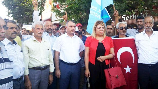 BBP'DEN DARBE GİRİŞİMİNE SERT TEPKİ (BARIŞ TÜREL/MALATYA-İHA)