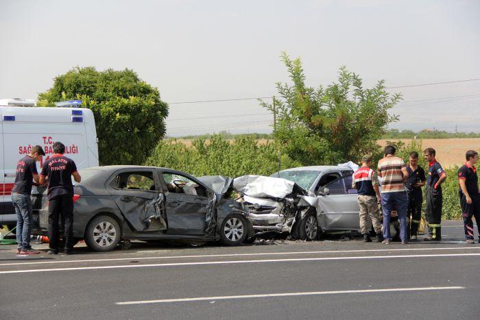 Malatya'da feci kaza, 4 ölü 1
