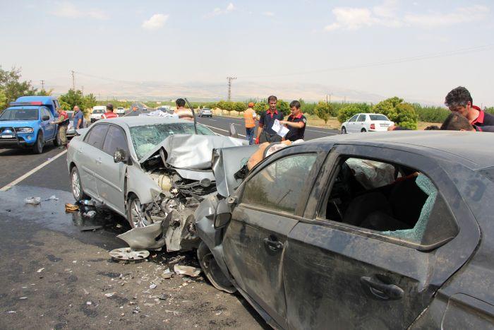 Malatya'da feci kaza, 4 ölü 2