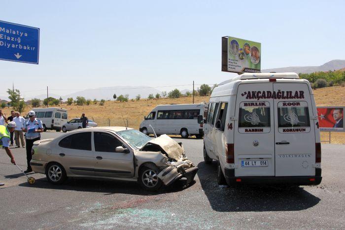Malatya'da kaza, 7 yaralı 1