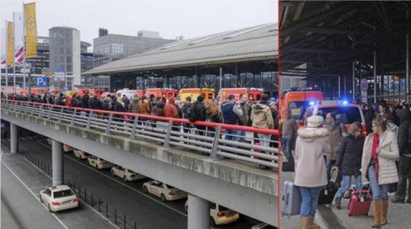 Hamburg Havalimanı'nda Alarm!