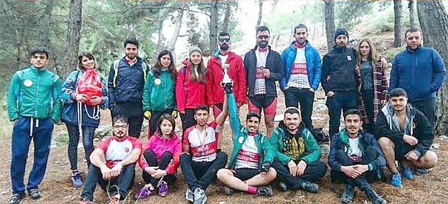 Dağ Bisikleti Yarışlarına Katıldılar