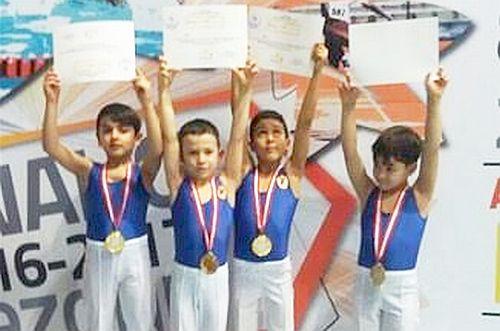 Malatyalı Jimnastikçiler 1. Lige Yükseldi