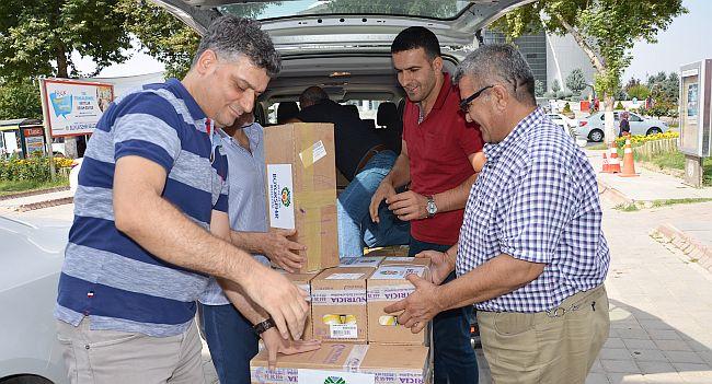 Suriyeli Göçmenlere İlaç Yardımı