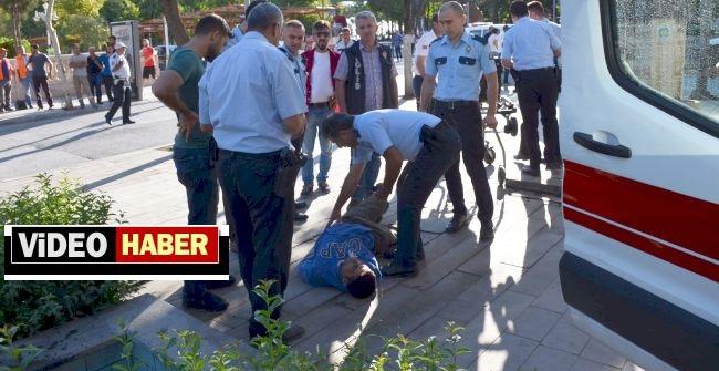 Polisten Kaçtı, Ana Caddede Vurularak Yakalandı