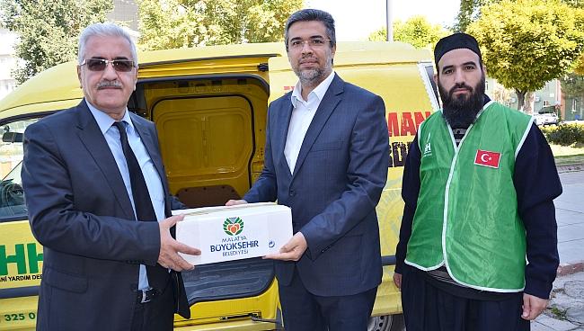 Sığınmacılar İçin İlaç Yardımı