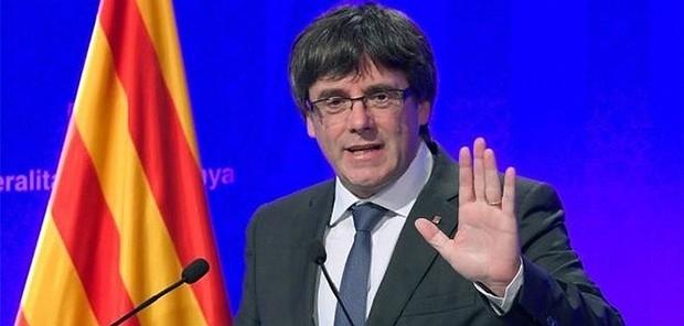 Katalan Lider Belçika'ya Kaçtı