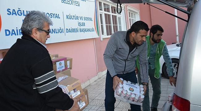 Sığınmacılara İlaç Yardımı