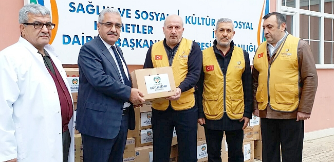 Büyükşehir'den 2.3 Milyonluk İlaç Yardımı