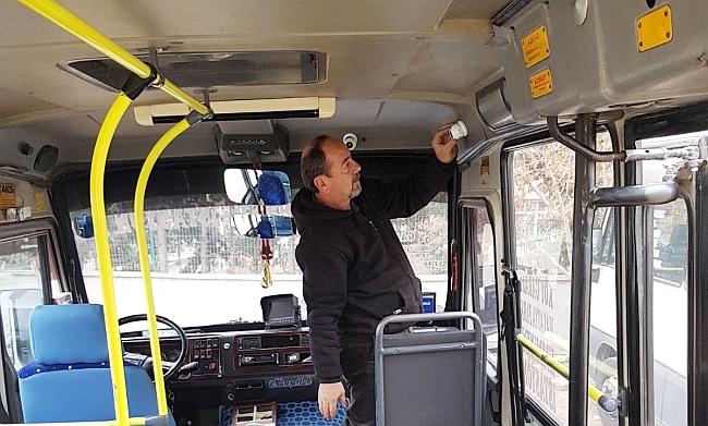 Toplu Taşıma Araçlarına Panik Butonu