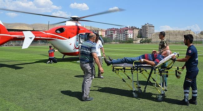 Hava Ambulansı Malatya'ya Götürdü