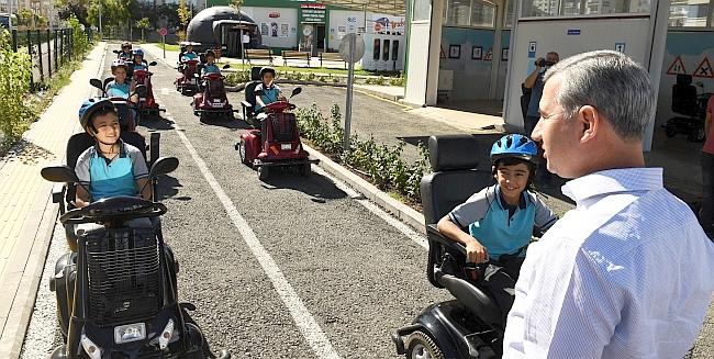 17 Bin Öğrenciye Trafik Eğitimi