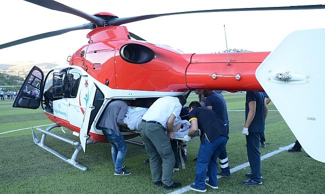 Helikopterde Kalbi Durunca