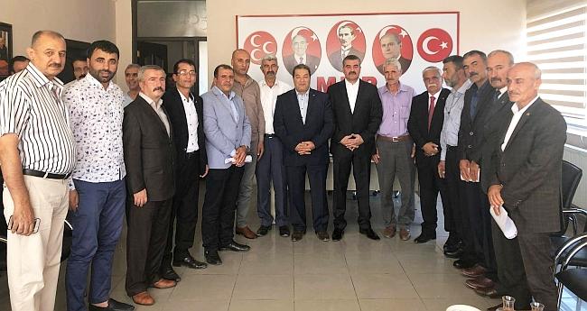 MHP'de 5 İlçe Başkanlığına Atama