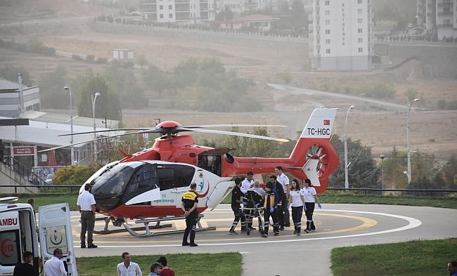 Acil Hasta İçin Riskli Uçuş