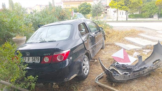 Darende'de Trafik Kazası