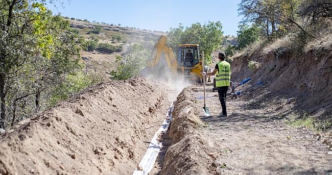 Arapgir'de 2 Mahalleye İçme Suyu Hattı
