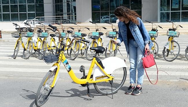 Kampüste 'Paylaşımlı Bisiklet' Uygulaması
