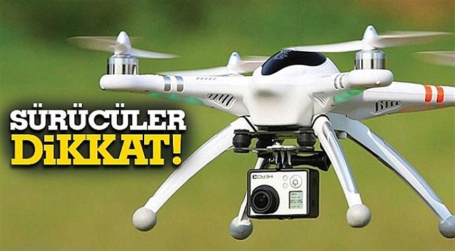Drone İle Trafik Denetimi