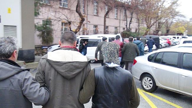 Esnafa 'Çöken' Çeteye Tutuklama
