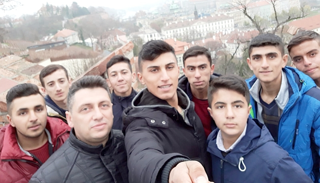 Yazıhanlı Liseli Grup Çekya'da