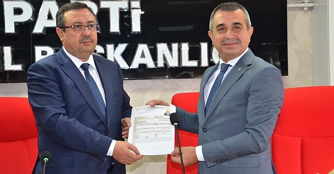 Bakan AKP'den Aday Adayı Oldu