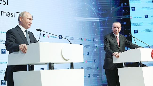 """""""Türkiye-Rusya İş Birliği Geniş Yelpazede İlerliyor"""""""