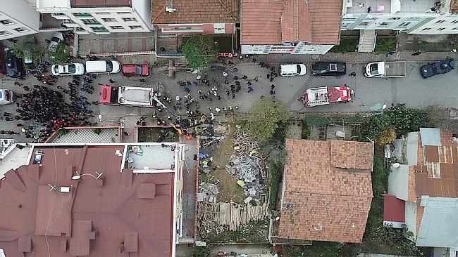 İstanbul'da Askeri Helikopter Düştü, 4 Şehit