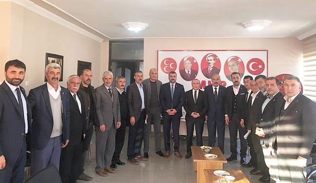 MHP İl Başkanlığında Seçim Toplantısı