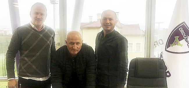 Balan Y.Orduspor'la Anlaştı