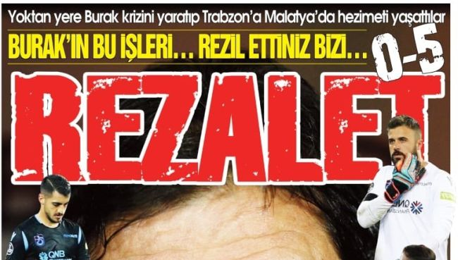 5-0'lık Malatya Hezimeti Trabzon'u Karıştırdı