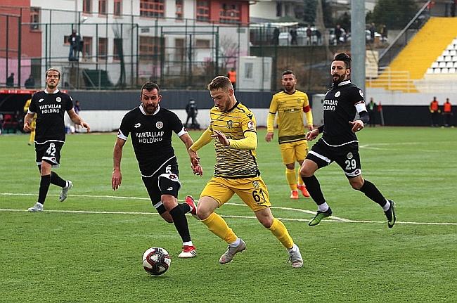 EYMS Ankara'da Galibiyetle Turladı: 0-2