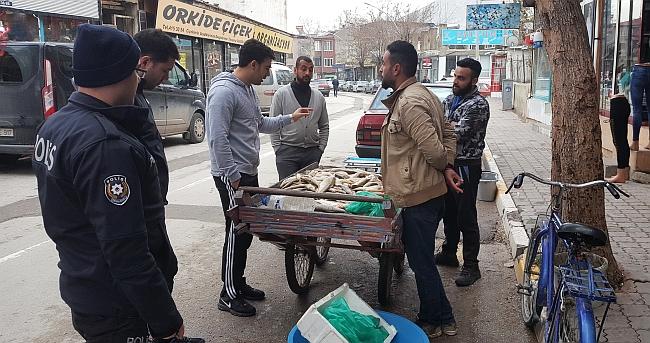 Malatya'da Kaçak Avlamışlar