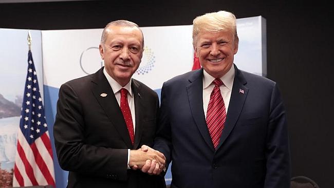 Erdoğan Putin ve Trump'la Görüştü