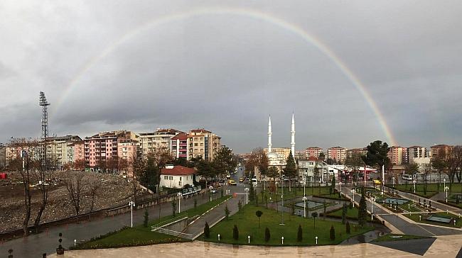 Malatya'da Gökkuşağı