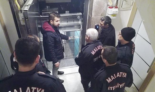 İtfaiyecilere Asansör Eğitimi