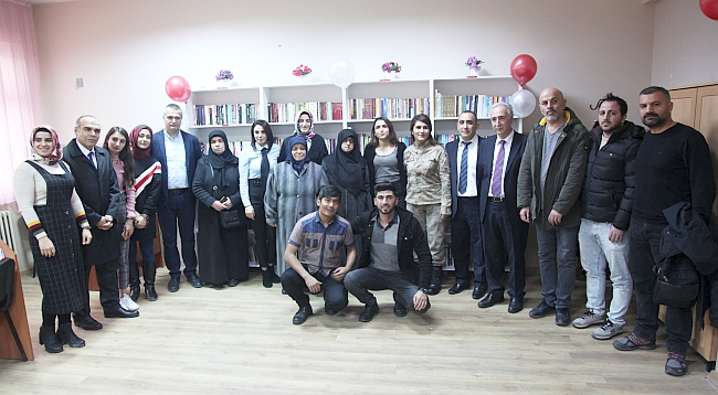 Şehit Asker Anısına Kütüphane