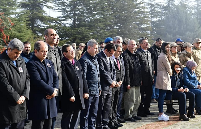 Komutan İçin İl Jandarma'da Cenaze Töreni