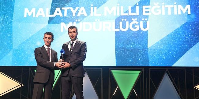 Milli Eğitim'e Kristal Baret Ödülü