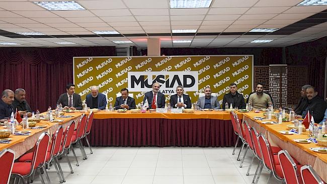 MÜSİAD- TSO Dost Meclisi