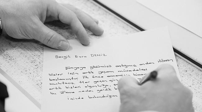 "Kaymakam Mektup Yazdı.. ""Sevgili Esra.."""