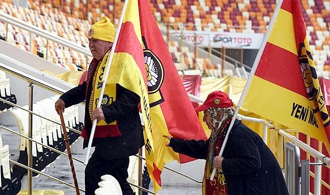Onlar Y.Malatya Stadı'nın Renkleri