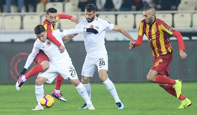 EYMS Akhisarspor'a Puan Kaptırdı:1-1